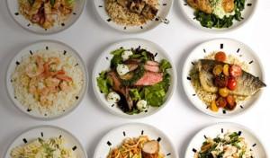 Еда в тарелках